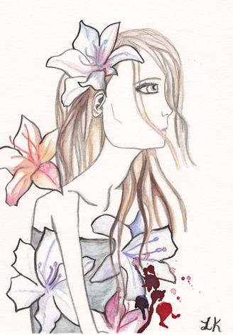 Rainbow lilies2